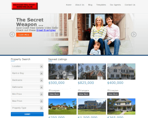 Gold Coast Small Business Website Sample - Real Estate