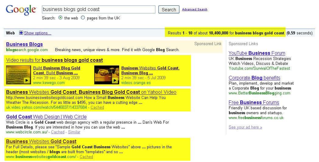 Google Business Websites Gold Coastbusiness Websites